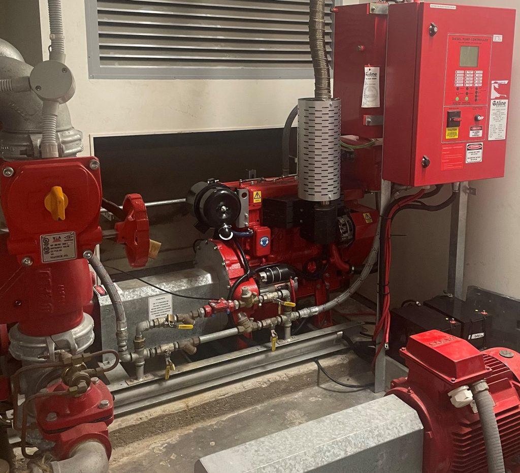 Diesel Engine Install