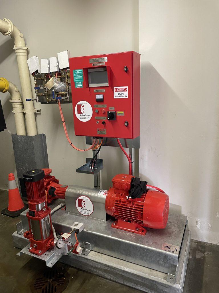 Electric Fire Pump Installation