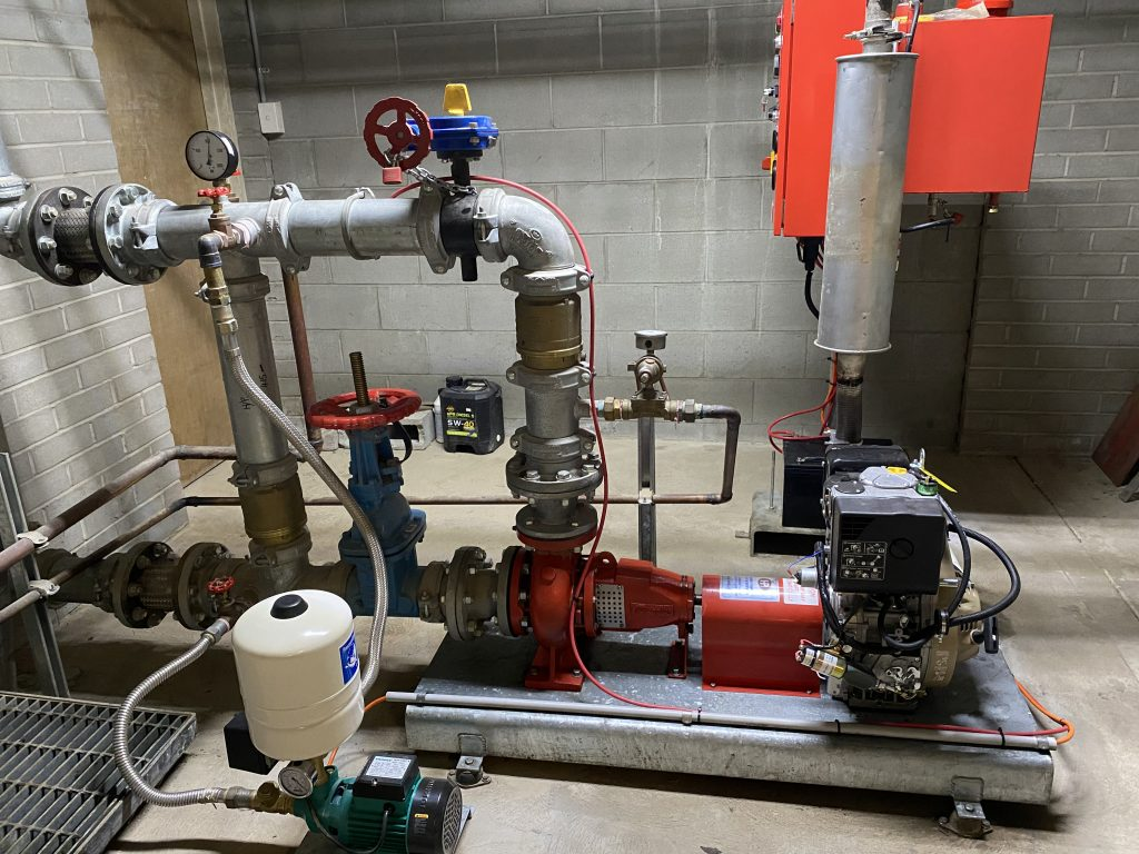 PM80 jacking pump replacement